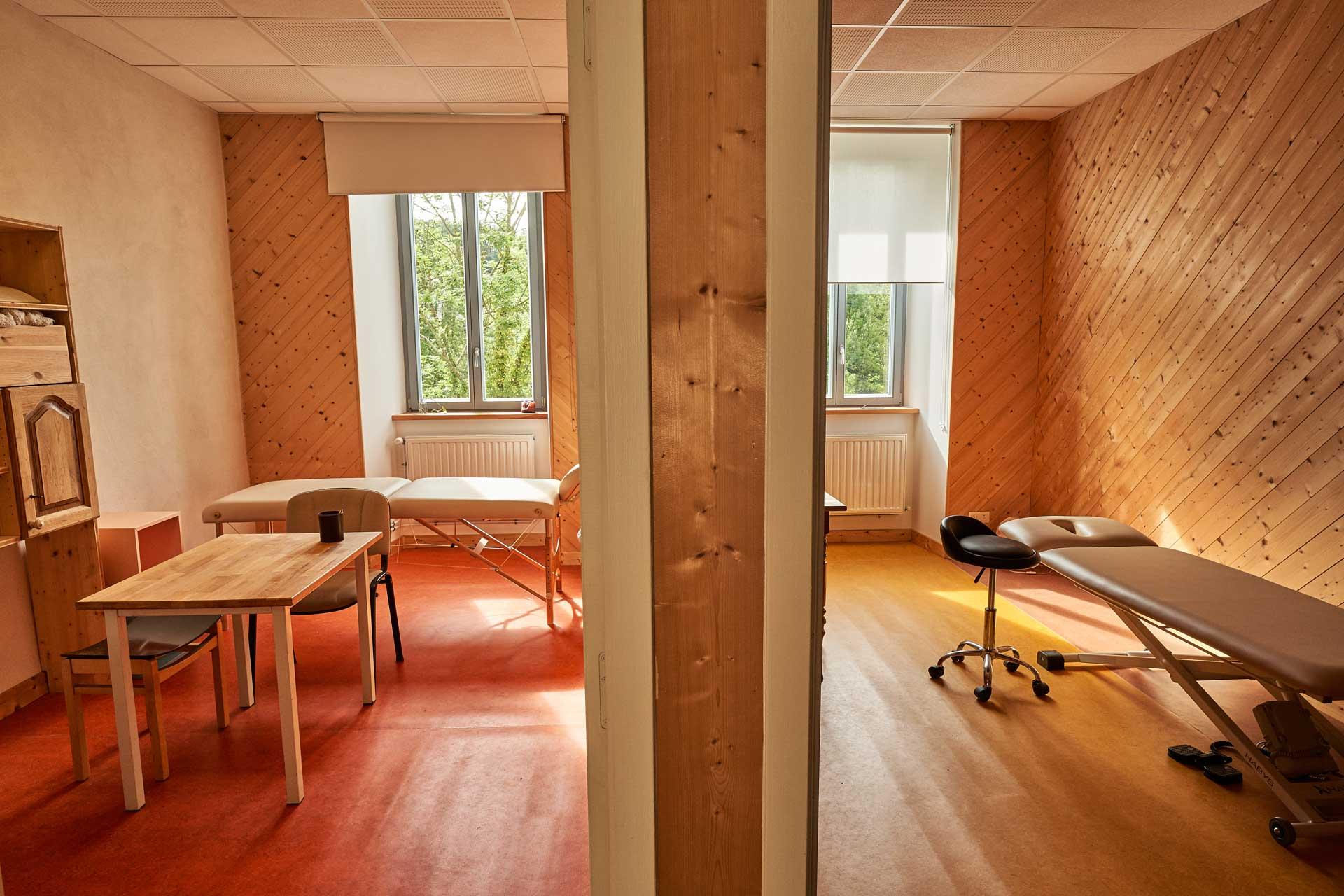 Salle pour les thérapeutes de l'Espace Soins et Bien-Être de Die